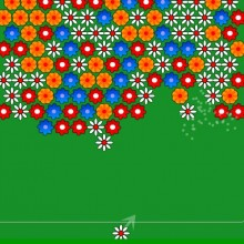 Стрельба цветочками