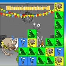 Динозавры три в ряд